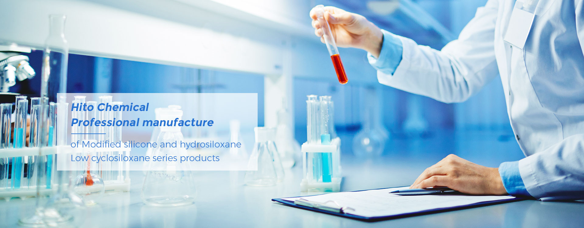 Hito Chemical Professional Manufactureof Modified Silicone and hydrosiloxane
